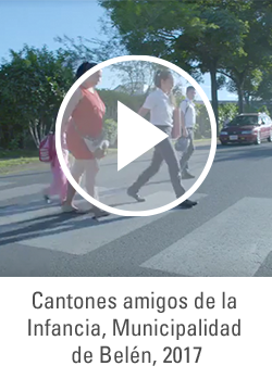 Cantones amigos de la Infancia, Municipalidad de Belén, 2017